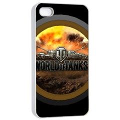 World Of Tanks Wot Apple Iphone 4/4s Seamless Case (white) by Samandel