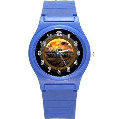 World Of Tanks Wot Round Plastic Sport Watch (s) by Samandel