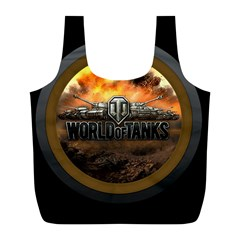 World Of Tanks Wot Full Print Recycle Bags (l)