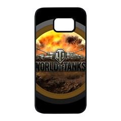 World Of Tanks Wot Samsung Galaxy S7 Edge Black Seamless Case