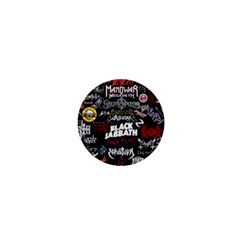 Metal Bands College 1  Mini Buttons by Samandel