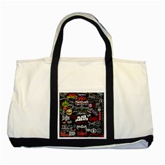 Metal Bands College Two Tone Tote Bag