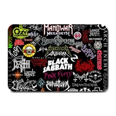 Metal Bands College Plate Mats