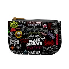 Metal Bands College Mini Coin Purses