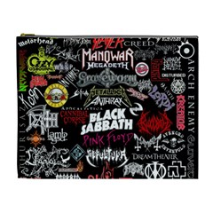 Metal Bands College Cosmetic Bag (xl)