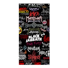 Metal Bands College Shower Curtain 36  X 72  (stall)