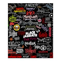 Metal Bands College Shower Curtain 60  X 72  (medium)