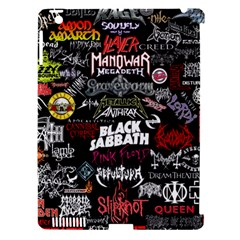 Metal Bands College Apple Ipad 3/4 Hardshell Case (compatible With Smart Cover)