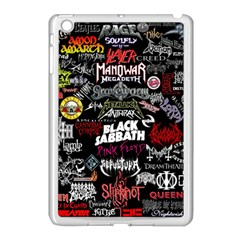 Metal Bands College Apple Ipad Mini Case (white)