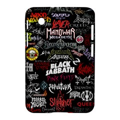 Metal Bands College Samsung Galaxy Tab 2 (7 ) P3100 Hardshell Case
