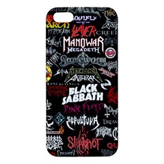 Metal Bands College Iphone 5s/ Se Premium Hardshell Case