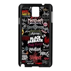 Metal Bands College Samsung Galaxy Note 3 N9005 Case (black)