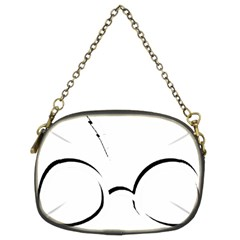 Harry Potter Inspired Lightning Glasses Symbol Chain Purses (two Sides)