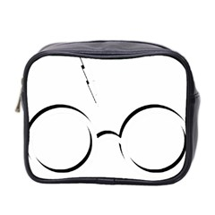 Harry Potter Inspired Lightning Glasses Symbol Mini Toiletries Bag 2 Side