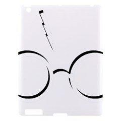 Harry Potter Inspired Lightning Glasses Symbol Apple Ipad 3/4 Hardshell Case