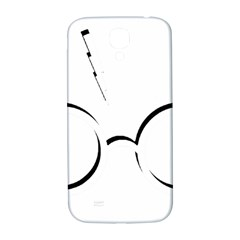 Harry Potter Inspired Lightning Glasses Symbol Samsung Galaxy S4 I9500/i9505  Hardshell Back Case