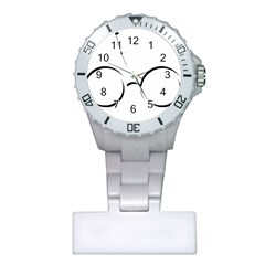 Harry Potter Inspired Lightning Glasses Symbol Plastic Nurses Watch