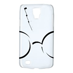 Harry Potter Inspired Lightning Glasses Symbol Galaxy S4 Active