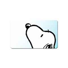Snoopy Love Magnet (name Card)