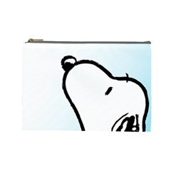 Snoopy Love Cosmetic Bag (large)
