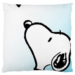 Snoopy Love Large Cushion Case (one Side)