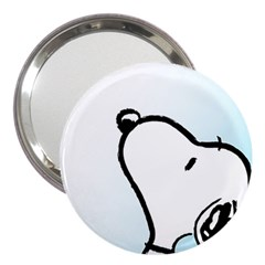 Snoopy Love 3  Handbag Mirrors