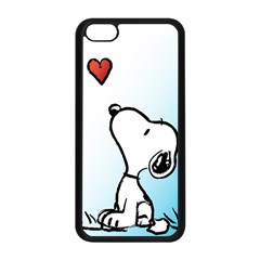 Snoopy Love Apple Iphone 5c Seamless Case (black)