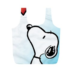 Snoopy Love Full Print Recycle Bags (m)
