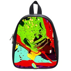 Untitled Island 6 School Bag (small) by bestdesignintheworld