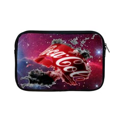 Coca Cola Drinks Logo On Galaxy Nebula Apple Ipad Mini Zipper Cases