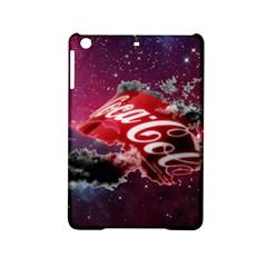 Coca Cola Drinks Logo On Galaxy Nebula Ipad Mini 2 Hardshell Cases