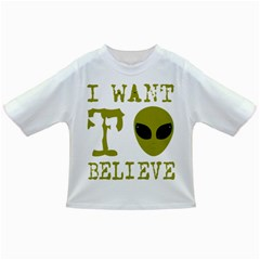 I Want To Believe Infant/toddler T Shirts