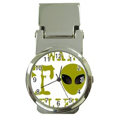 I Want To Believe Money Clip Watches