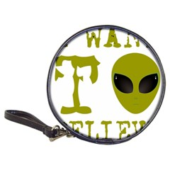 I Want To Believe Classic 20 Cd Wallets
