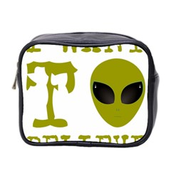 I Want To Believe Mini Toiletries Bag 2 Side