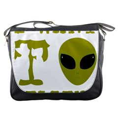 I Want To Believe Messenger Bags