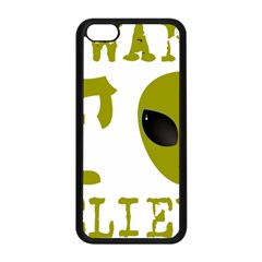 I Want To Believe Apple Iphone 5c Seamless Case (black)