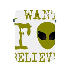 I Want To Believe Apple Ipad 2/3/4 Protective Soft Cases