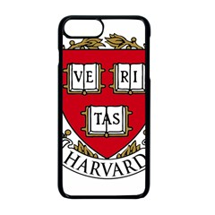 Harvard University Logo Apple Iphone 8 Plus Seamless Case (black)