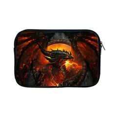 Dragon Legend Art Fire Digital Fantasy Apple Ipad Mini Zipper Cases by Samandel