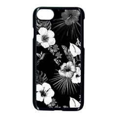 Tropical Pattern Apple Iphone 7 Seamless Case (black) by Valentinaart