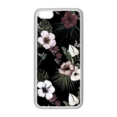Tropical Pattern Apple Iphone 5c Seamless Case (white) by Valentinaart