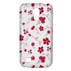 Sweet Shiny Floral Red Galaxy S4 Mini by ImpressiveMoments