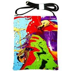 Untitled Island 5 Shoulder Sling Bags by bestdesignintheworld