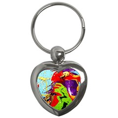 Untitled Island 5 Key Chains (heart)  by bestdesignintheworld