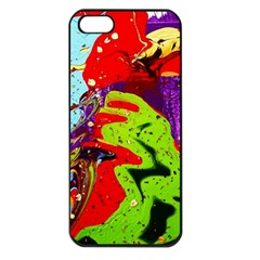 Untitled Island 5 Apple Iphone 5 Seamless Case (black) by bestdesignintheworld