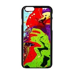 Untitled Island 5 Apple Iphone 6/6s Black Enamel Case by bestdesignintheworld