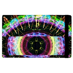 Crowned Existence Of Neon Apple Ipad 3/4 Flip Case by TheExistenceOfNeon2018
