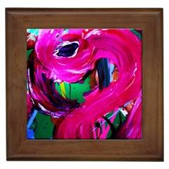 Flamingo   Child Of Dawn 8 Framed Tiles by bestdesignintheworld