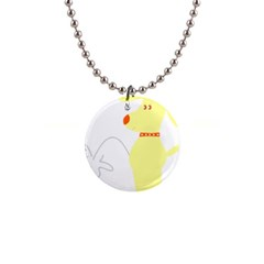 Mutt Dog Animal Domestic Vector Button Necklaces